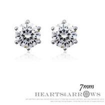 silver earring 032002 (7mm)