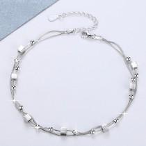 Silver Square bracelet