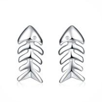 silver earring MLE40