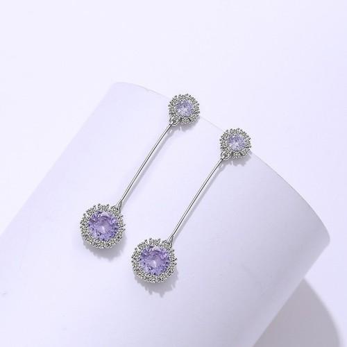 silver earring MLE1840-1