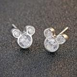 silver earring MLE492