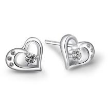 silver earring MLE97