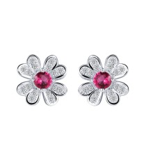 silver earring MLE177