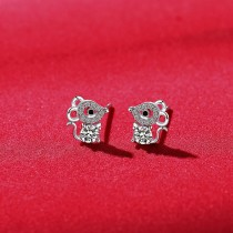 silver earring MLE1860