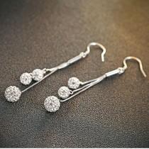 silver earring MLE475