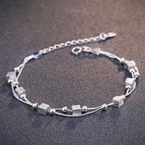 silver earring MLL153