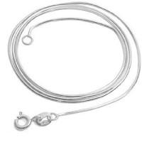 22  snake silver chian  048122