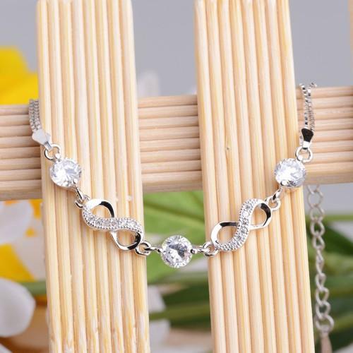 silver bracelet MLL17a