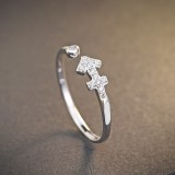 silver ring MLR239u(sheshou)