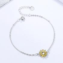 Silver Daisy Bracelet MLA313