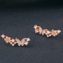 silver earring MLE179a
