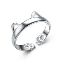 silver ring MLK296