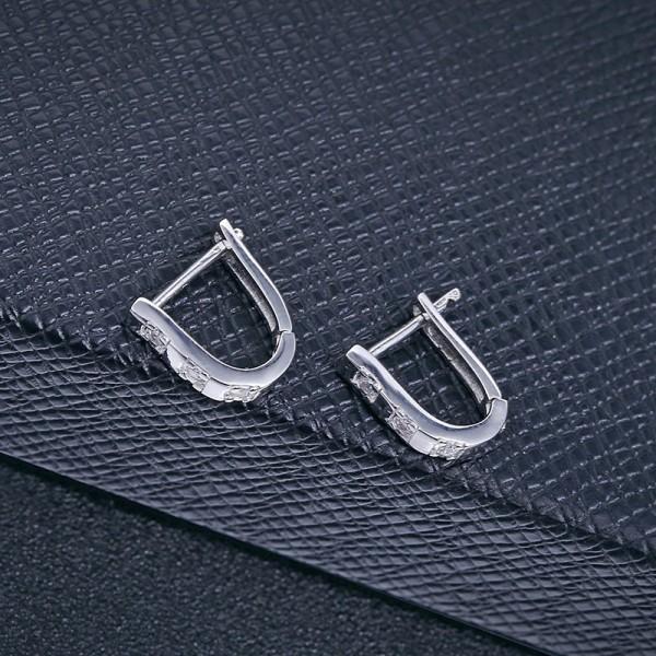 silver earring MLE410