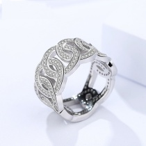 Silver Hollow ring