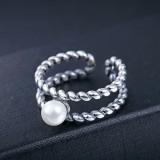 silver ring MLR254