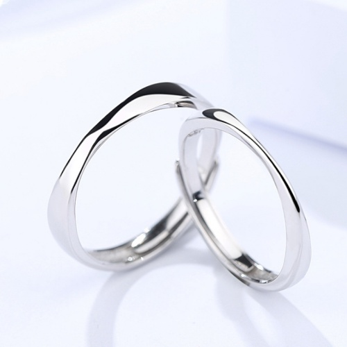 Silver Couple ring 399