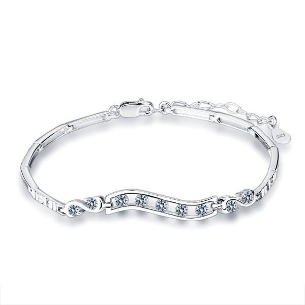 silver bracelet MLL27