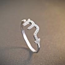 silver ring MLR239b(tianxie)