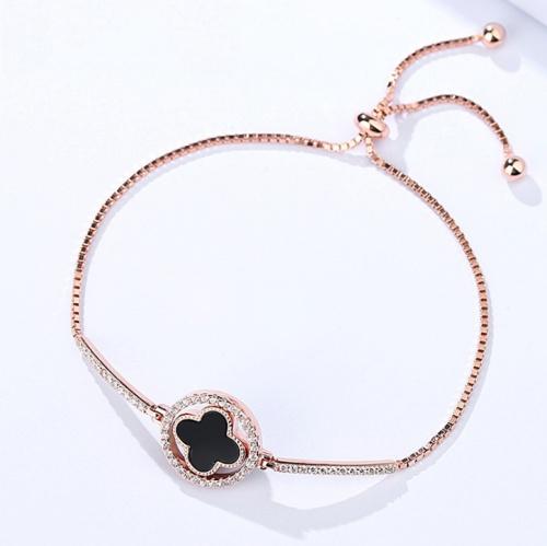 Silver Clover bracelet 340