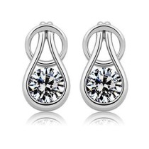 silver earring 22403