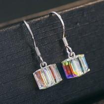 silver earring MLE237