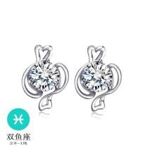 silver earring MLE122