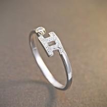 silver ring MLR239(shuangzi)