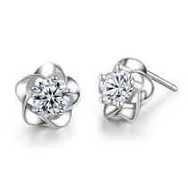 silver earring MLE05
