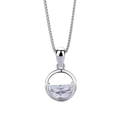 Silver Round pendant 1032