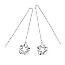 silver earring530308