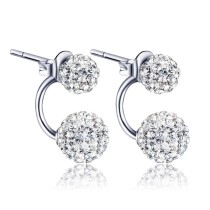 silver earring MLE87