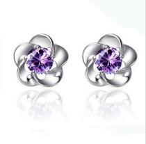 silver earring MLE05a