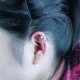 silver earring H71855