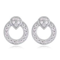 silver earring 22542
