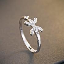 silver ring MLR239t(shuangyu)