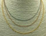 Distribution chain (18K gold plating)(十字链)