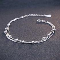 silver bracelet MLL148