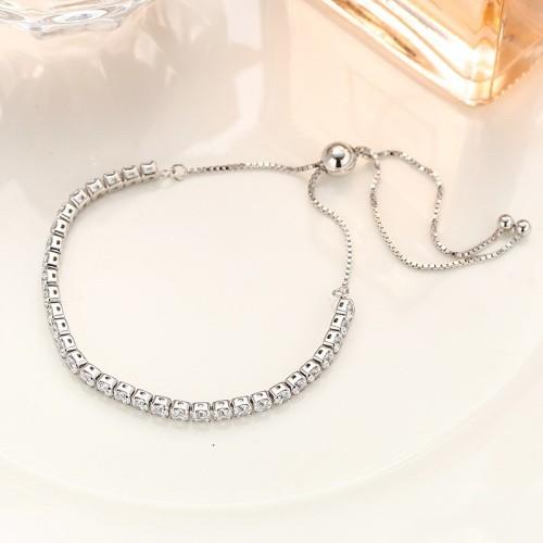silver round bracelet MLB232