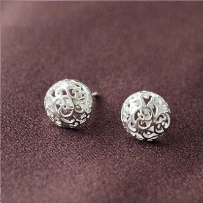 silver earring BL610037