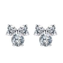 silver earring MLE144