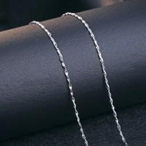 silver chain ML满天星瓜子链(18')