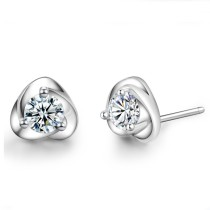 silver earring MLE04a