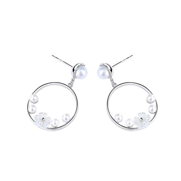 Round earrings 1408