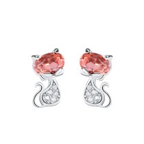 silver earring MLE233