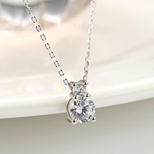 silver drop pendant 876
