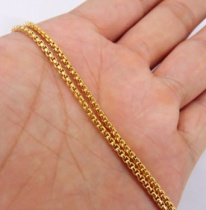 Distribution chain (18K gold plating)(珍珠链)