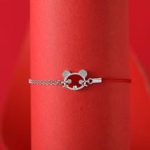 silver bracelet MLL149-2