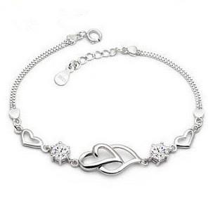 silver bracelet MLL6a