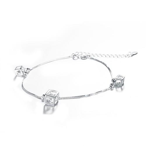 silver bracelet MLL146