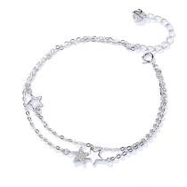Silver star bracelet 350
